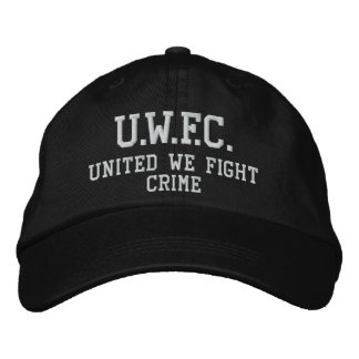 UNITED WE FIGHT CRIME™  Embroidered Hat