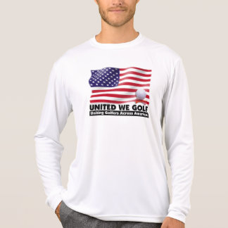 UNITED WE GOLF®  Long Sleeve Sport Shirt