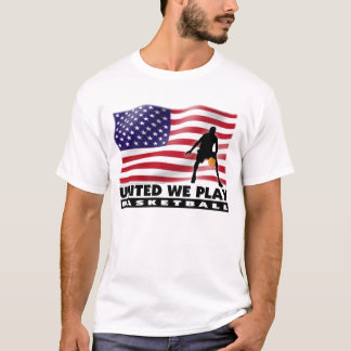 UNITED WE PLAY® Basketball American Flag Shirt