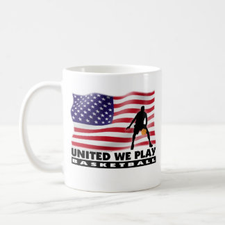 UNITED WE PLAY® Basketball Coffee Mug