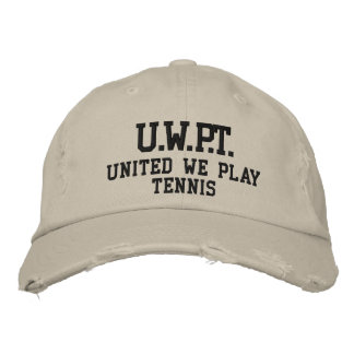 UNITED WE PLAY™  TENNIS EMBROIDERED BASEBALL CAP