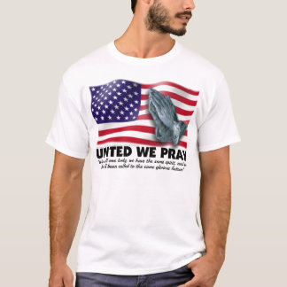 UNITED WE PRAY® Fitted T-Shirt
