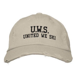 UNITED WE SKI™  Embroidered Hat