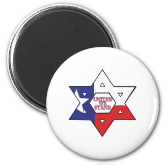 United We Stand 2 Inch Round Magnet