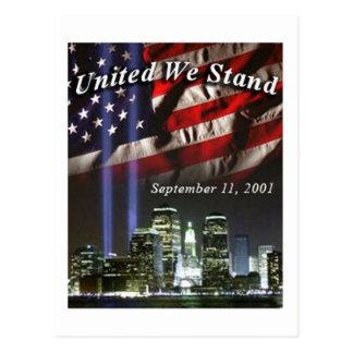 United We Stand 3 Postcard