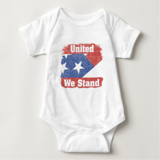 United We Stand America Baby Bodysuit