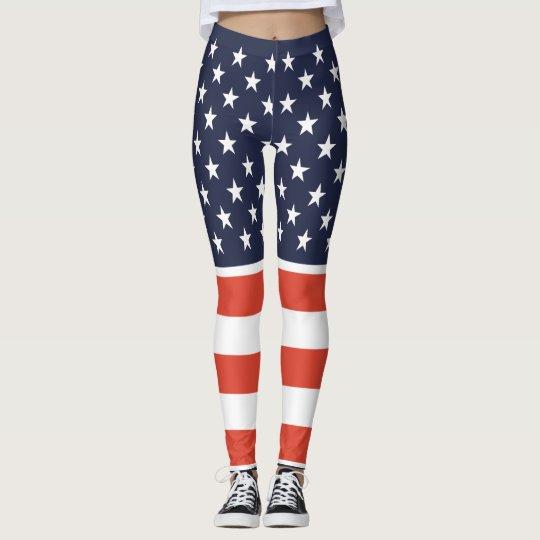 5e1ddbbebfd1 United We Stand American Flag Leggings