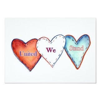 United We Stand American Hearts Invite