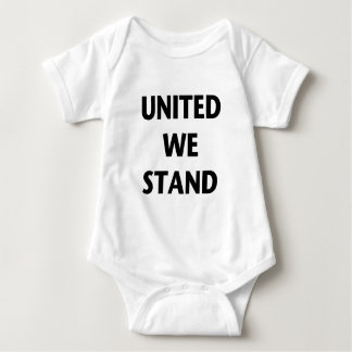 United We Stand Baby Bodysuit