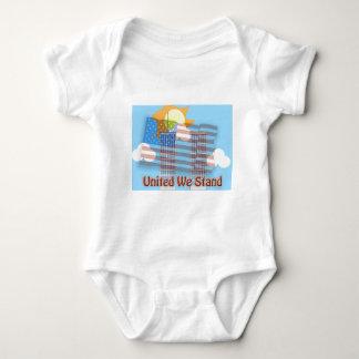 United We Stand Baby Bodysuit