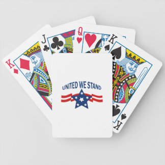 United We Stand Bicycle Playing Cards