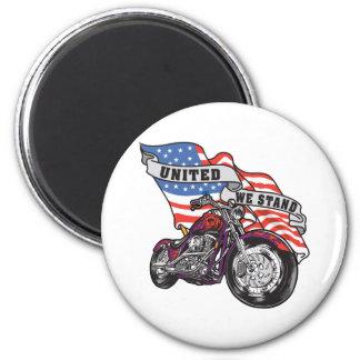 United We Stand Bike Magnet