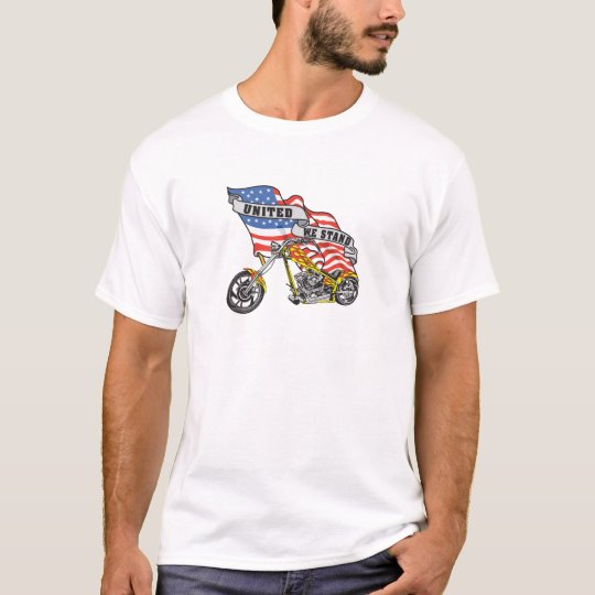 United We Stand Biker T-Shirt