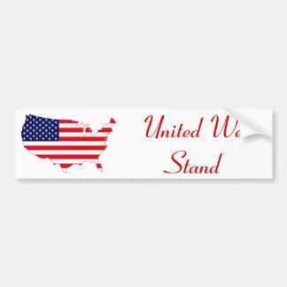 United We Stand Bumper Sticker