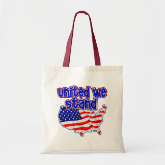 United We Stand Canvas Bag