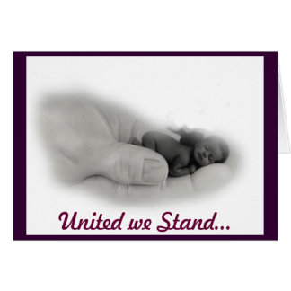 United we Stand... Cards