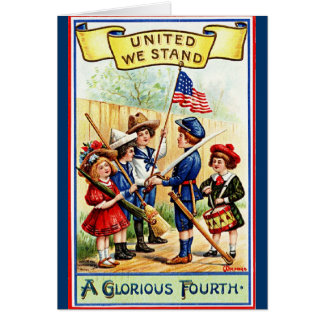 united we stand greeting cards