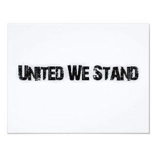 United We Stand Card