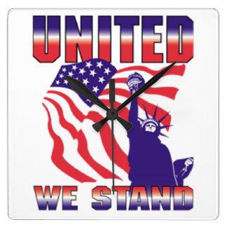 United We Stand Clock