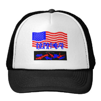 United We Stand - divided we fall american flag Trucker Hat