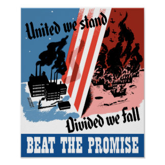 United We Stand -- Divided We Fall Poster