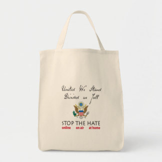 United We Stand, Divided We Fall Tote Bag