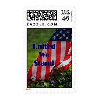 United We Stand Flag Postage
