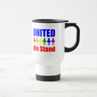 United We Stand Gay and Lesbian Coffee Mugs