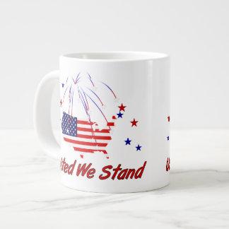 United We Stand Giant Coffee Mug