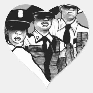 United We Stand Heart Sticker