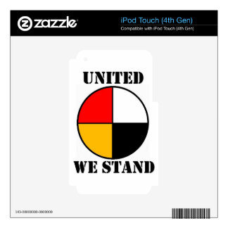 United We Stand iPod Touch 4G Decal