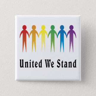 United We Stand Pinback Button