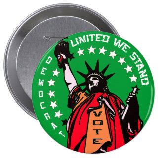 UNITED WE STAND PINBACK BUTTONS