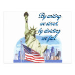 United We Stand Post Card