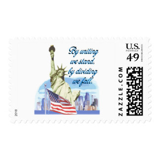 United We Stand Postage Stamp