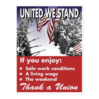 United We Stand -- Pro-Union Postcard