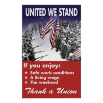 United We Stand -- Pro-Union Poster
