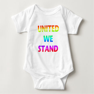 United We Stand Rainbow Baby Bodysuit