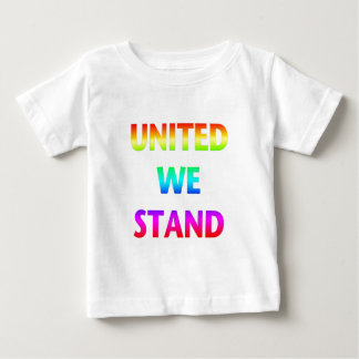 United We Stand Rainbow Baby T-Shirt