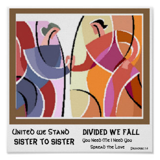 United We Stand Sister to Sister Poster