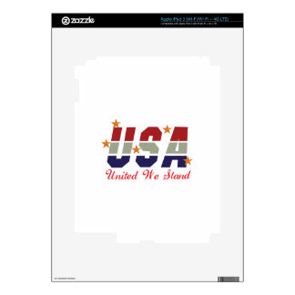 United We Stand Skins For iPad 3