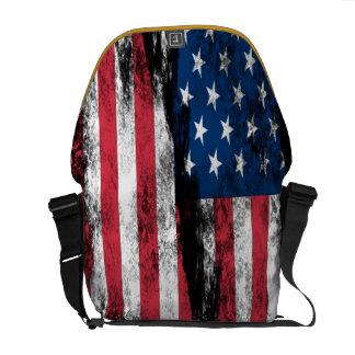 United We Stand USA Rickshaw Messenger Bag