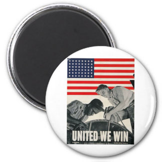 United We Win! Magnet