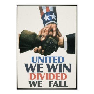 United We Win Unions Invitation