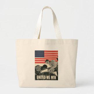 United We Win World War II Bag