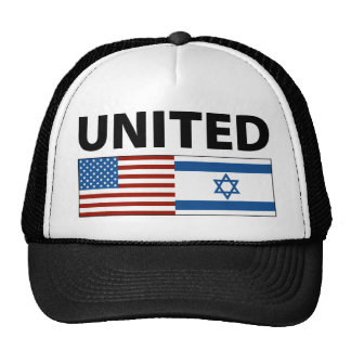 United with Israel Trucker Hats