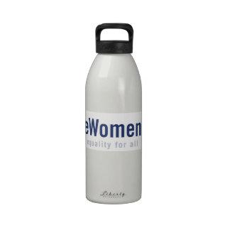 UniteWomen.org Logo Water Bottle