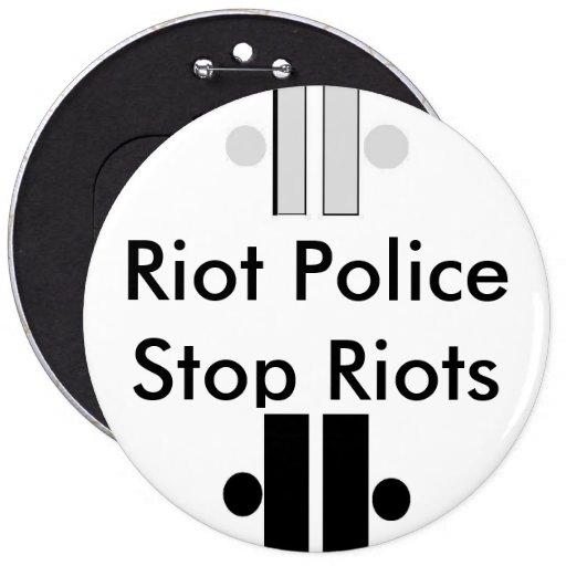 unity6, Unity4, policía antidisturbios paran albor Pin
