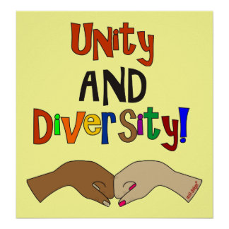 UNITY AND DIVERSITY Poster