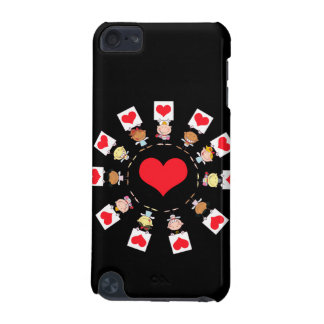 unity and love cartoon kids iPod touch (5th generation) case